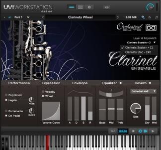Clarinets UVI