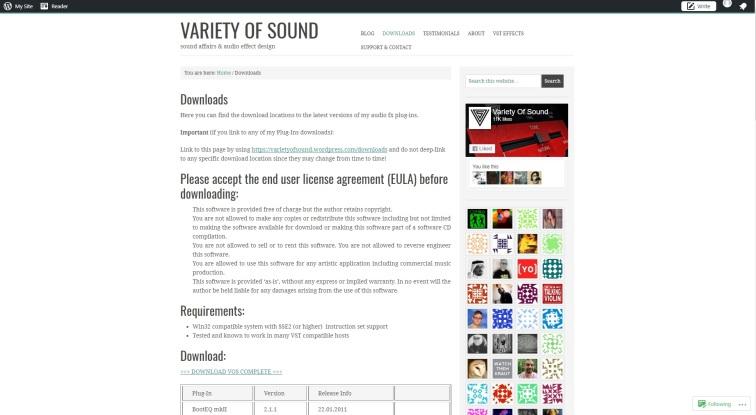 VarietyOfSound
